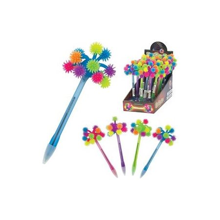 Stylo pom pom light up