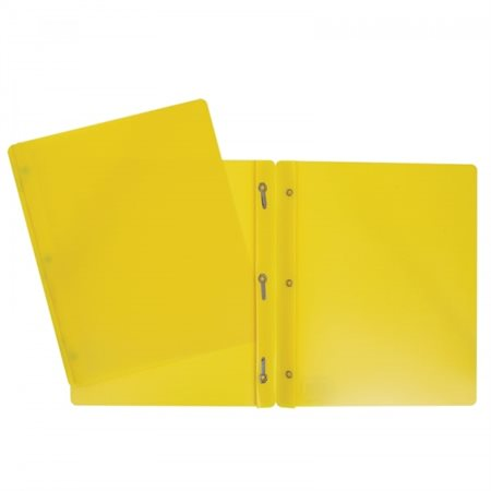 Duo tangs plastifiés (jaune)