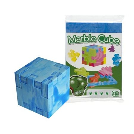 HAPPYCUBE CASSE-TÊTE MARBLE CUBE 9+