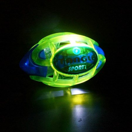 BALLON LUMINEUX TANGLE-FOOTBALL-13X22X13 CM